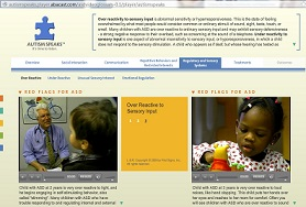 Autism Speaks video library