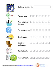 graphic about Children's Routine Charts Free Printable called Free of charge Printable Charts for Young children and Moms and dads - A must have Parenting
