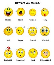 feelings faces chart
