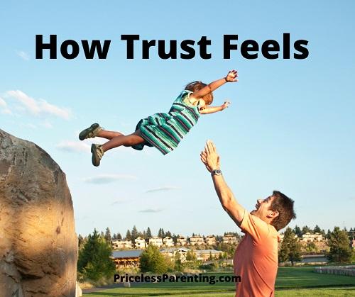 How Trust Feels