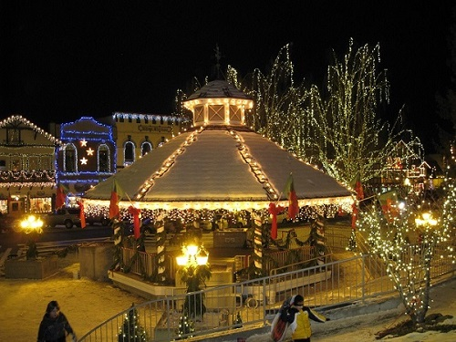 Leavenworth, WA at the holidays