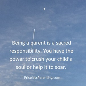 Sacred Responsibility for child's soul