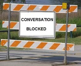 Conversation Roadblock